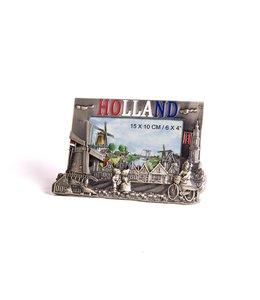 Fotolijst metaal Holland brons