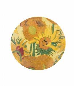 5 stuks Bord Zonnebloemen Van Gogh Museum