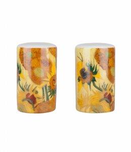5 stuks Peper en zoutstel Zonnebloemen Van Gogh Museum
