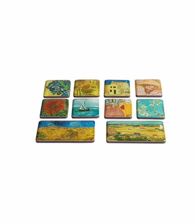 10 stuks Set mini magneten Van Gogh Museum