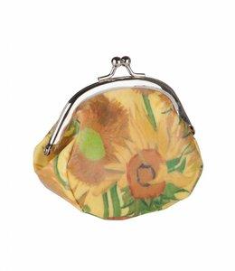 2 stuks Knip portemonnee Zonnebloemen Van Gogh Museum