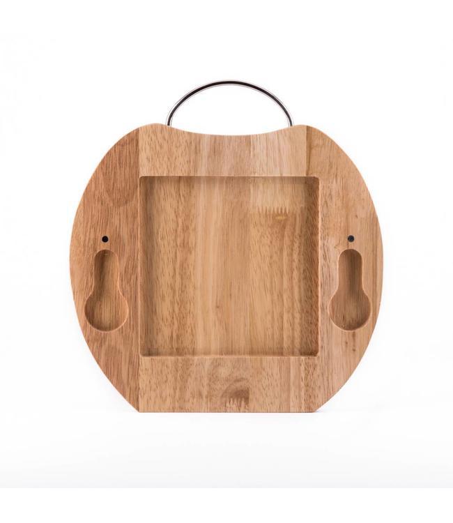 Houten plank appelvorm