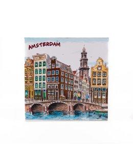Siertegel 15 x 15 cm Color Amsterdam