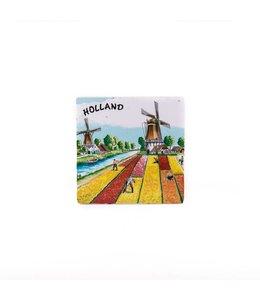 Siertegel 10 x 10 cm Tulips Holland