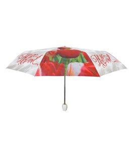12 stuks paraplu's Holland tulpen compilatie