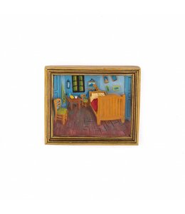 12 stuks magneet polystone Slaapkamer - Vincent van Gogh
