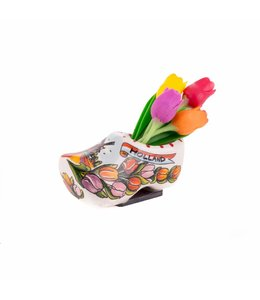 12 stuks magneetklomp enkel keramiek 7 cm tulpen