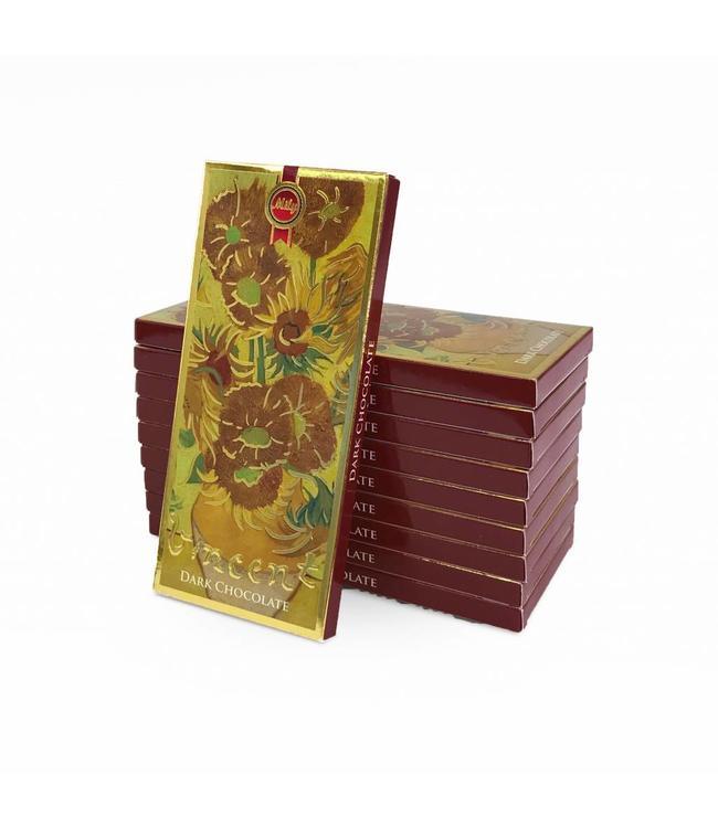 10 stuks Puurchocolade Van Gogh