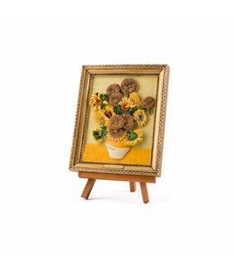 Schilderij op ezel - van Gogh Zonnebloemen