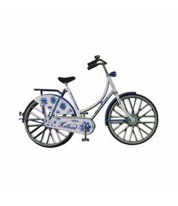 12 stuks magneet metaal fiets Delftsblauw Holland