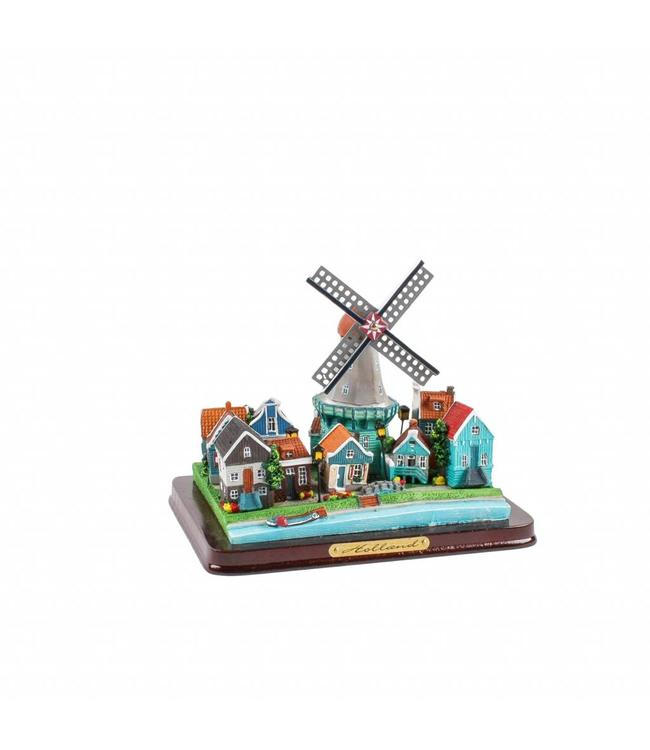 Dorpstafereel Holland 16 cm