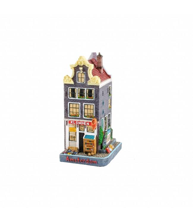Huisje klompenwinkel Brouwersgracht 12 cm