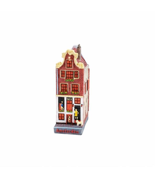 Huisje sexhouse 12 cm