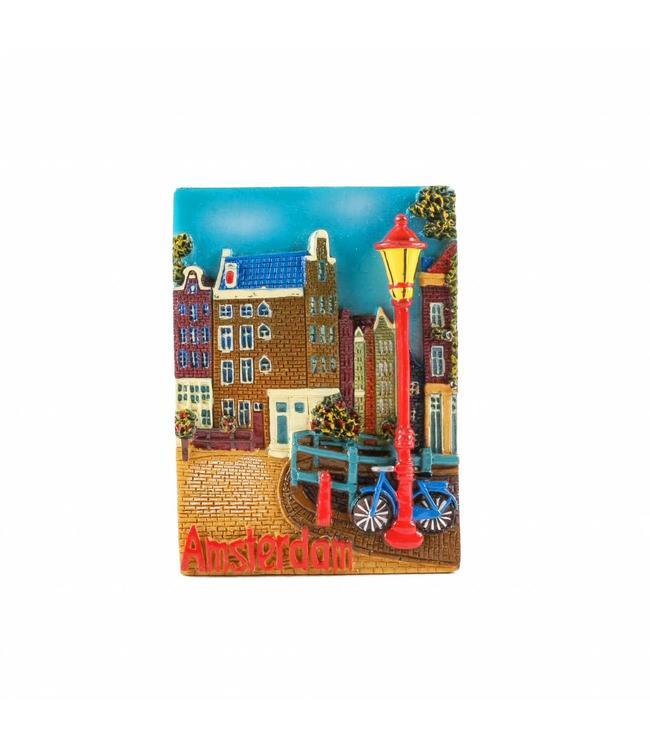 12 stuks Magneet Keizersgracht Amsterdam