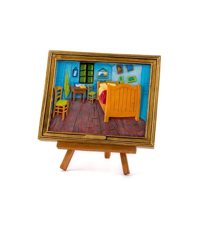 Schilderij op ezel - van Gogh Bedroom