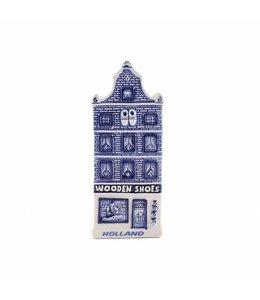 12 stuks Magneet delftsblauw klompenwinkel Holland