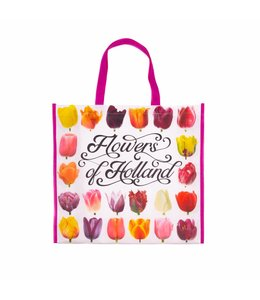 12 stuks Shopper Tas Flowers of Holland