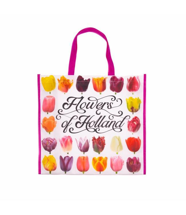 12 stuks Shopper Tas Flowers of Holland