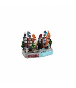 3D stadstafereel Holland 9 cm