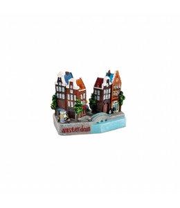 3D stadstafereel Amsterdam 9 cm
