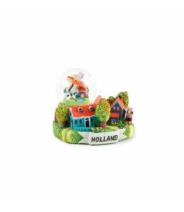 Waterbol dorpstafereel Holland 7 cm