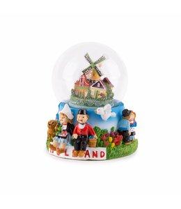 Waterbol zittend paartje Holland 10 cm