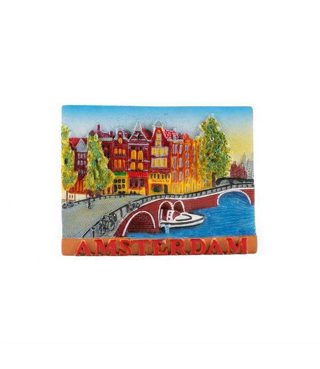 12 stuks Magneet brug Amsterdam