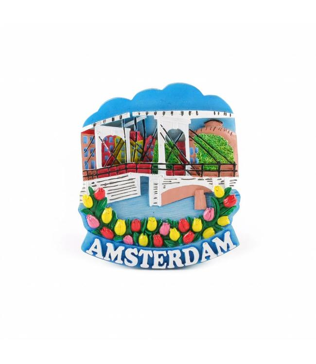 12 stuks Magneet magere brug Amsterdam
