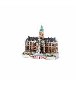 12 stuks 3D magneet Damplein Amsterdam