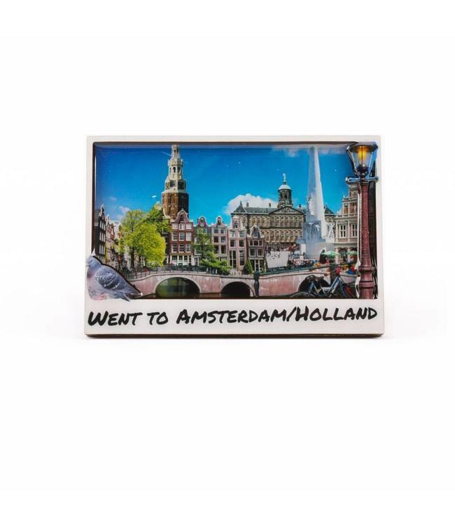 12 stuks Magneet 2D coating went to Amsterdam