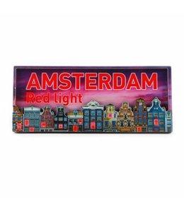 12 stuks Magneet 2D MDF Red Light Amsterdam