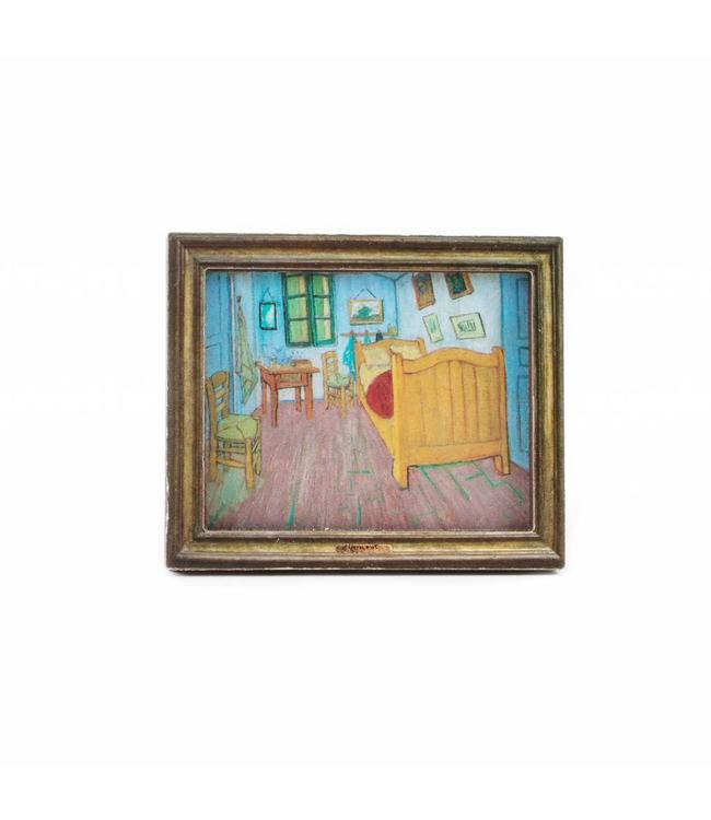 12 stuks Magneet 2D MDF Slaapkamer - Van Gogh