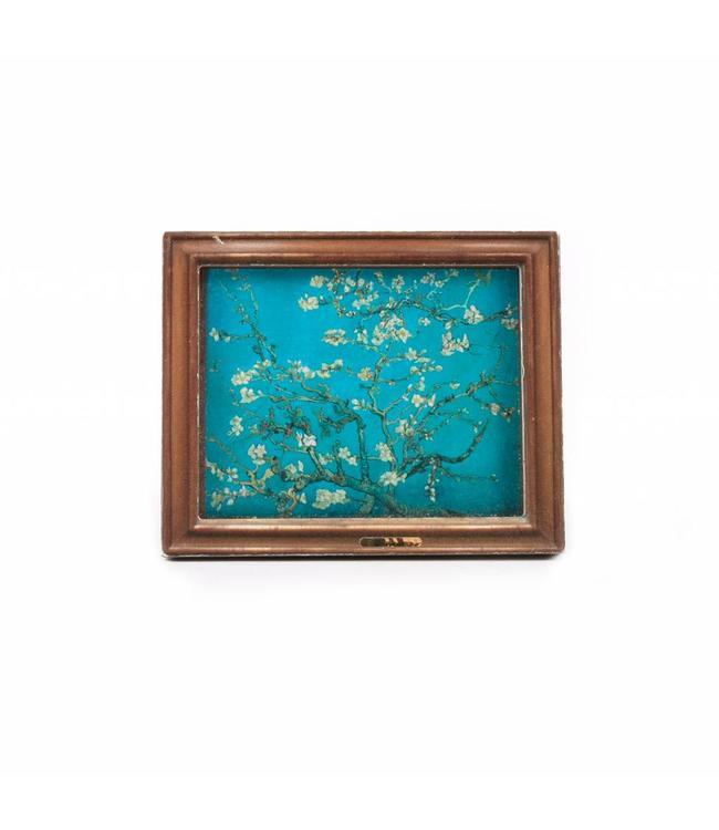 12 stuks Magneet 2D MDF Bloesem - Van Gogh