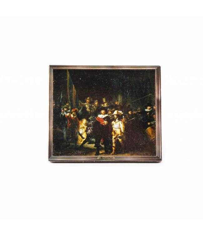 12 stuks Magneet 2D MDF Nachtwacht - Rembrandt