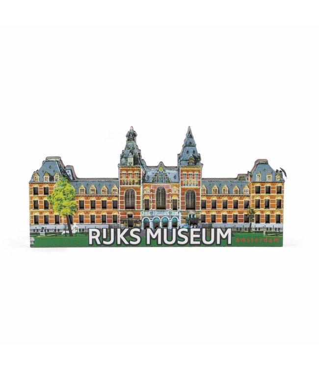 12 stuks Magneet 2D MDF Rijksmuseum Amsterdam