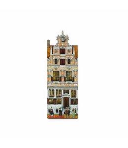 12 stuks Magneet 2D MDF huis de Gecroonde Aep Amsterdam