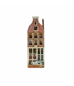 12 stuks Magneet 2D MDF huis Korte prinsengracht Amsterdam