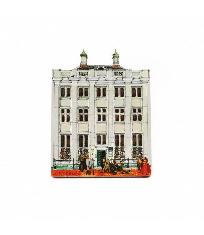 12 stuks Magneet 2D MDF Pintohuis Amsterdam