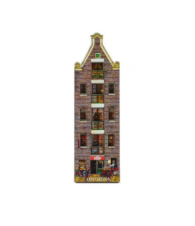 12 stuks Magneet 2D MDF pancake house Amsterdam