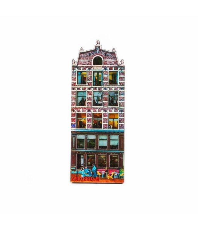 12 stuks Magneet 2D MDF de Pieper Amsterdam