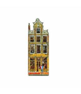 12 stuks Magneet 2D MDF chocolaterie Amsterdam