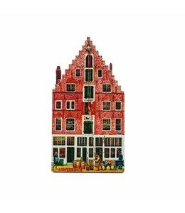 12 stuks Magneet 2D MDF Singel Amsterdam