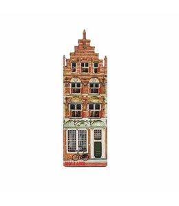 12 stuks Magneet 2D MDF Handboog Holland