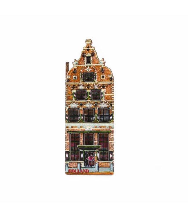12 stuks Magneet 2D MDF Betlehem Holland