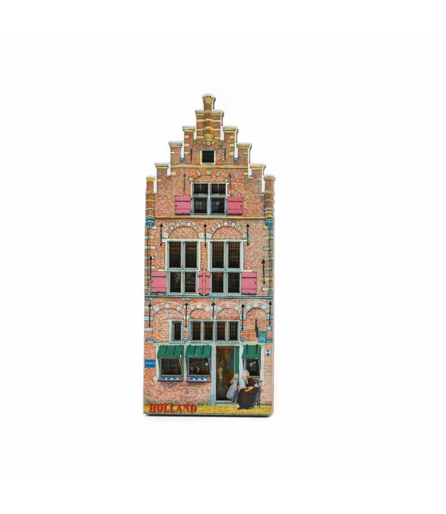 12 stuks Magneet 2D MDF museum Holland
