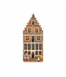 12 stuks Magneet 2D MDF Veermanskade Holland