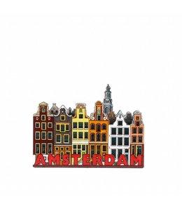 12 stuks Magneet 2D MDF gracht Amsterdam