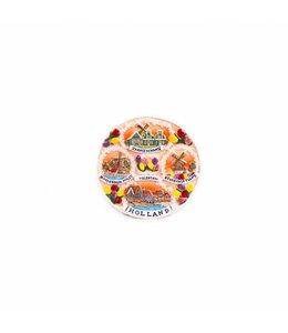 12 stuks Magneet keramiek compilatie dorpen color Holland