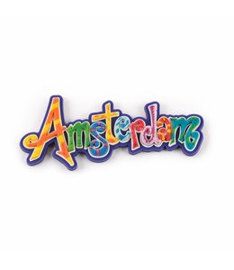 12 stuks Magneet letters Amsterdam