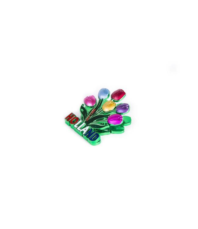 12 stuks Magneetclip tulpenbos Holland